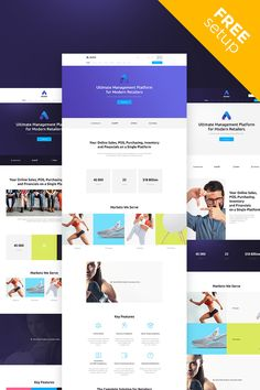 Anchor General Business Ready-made Website #66016