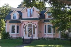 Gorgeous pink home