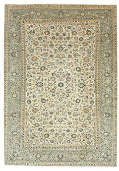 A Keshan (Persian/Iran).Hand knotted. 9 mm thkns,  232 x 331 cm, Wool pile/Cotton warp. New. 160K knots/m2. CarpetVista/ARY255