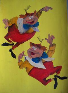 *TWEEDLE DEE & TWEEDLE DUM ~ Alice in Wonderland, 1951