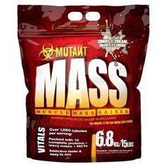 MUTANT MASS 6.8KG OUR PRICE: £55.95 #protein #supplements #bodybuilding