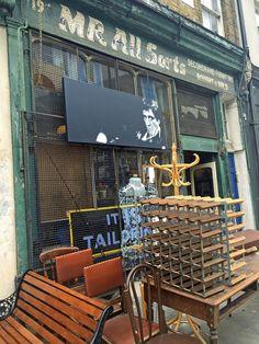 de beauvoir town, mr allsorts second hand shop, essex road