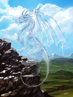 Diamond dragon by *Saarl on deviantART