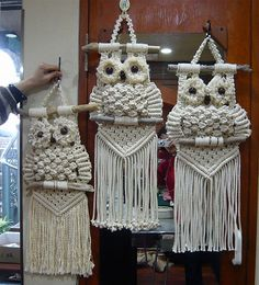 My grandmother used to have these hanging I love it!