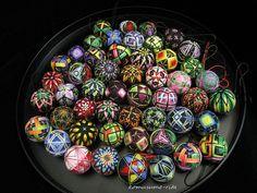 Mini temari balls (2.5cm)