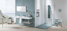 Acquabella Blue Bathroom