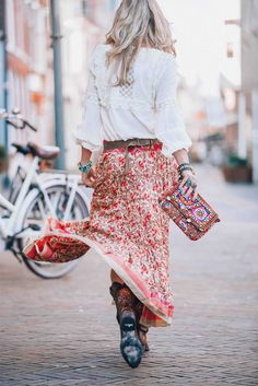 Bohemian Ibiza skirt that you just need to have this summer! c74427e6a671