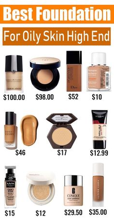 Which Is Best Foundation For Oily Skin In India - Having oily skin is no joke. Between the myriad anti-shine makeup foundation and skin-care products you Best Long Lasting Foundation, Best Powder Foundation, Full Coverage Matte Foundation, Best Foundation For Oily Skin, Best Drugstore Foundation, Airbrush Foundation, No Foundation Makeup, Top Foundations, Best Cushion Foundation