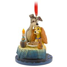 Lady and the Tramp Ornament