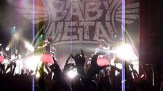 BABYMETAL Paris Live - Ijime Dame Zetai - Gimmie Chocolate - Akatsuki