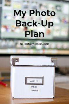 Please Back Up your Photos! Backing up your computer is something we all know we should do, right? Making sure your photos and files are backed up and safe is important. Photoshop Photography, Photography Photos, Photography Journal, Toddler Photography, Photography Workshops, Photography Projects, Family Photos, My Photos, Family Posing