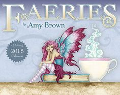 EARLY BIRD SPECIAL 2018 Faeries Calendar 8.5x11 by Amy Brown