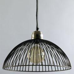 Wire Dome Pendant Lamp