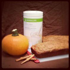 Herbalife Pumpkin Zucchini Bread
