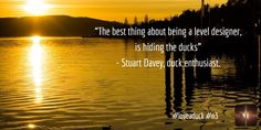 """""""The best thing about being a level designer is hiding the ducks"""" - Stuart Davey, duck enthusiast. #loveaduck #indiedev #nonagonthree #n3"""