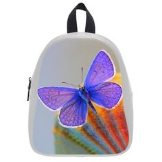 This school bag is much more suitable for kindergarten children Pretty Speciallymade Animals Butterfly Theme Children Backpacks With Black or White Color >>> You can get additional details at the image link-affiliate link.