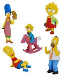 The Simpsons - Figúrky Simpsonovci