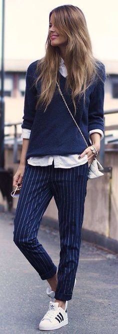 Casual Preppy Style | Sloane Ranger Style