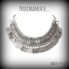 collar monedas #mimossa Silver, Jewelry, Coin Necklace, Necklaces, Accessories, Jewerly, Jewlery, Schmuck, Jewels