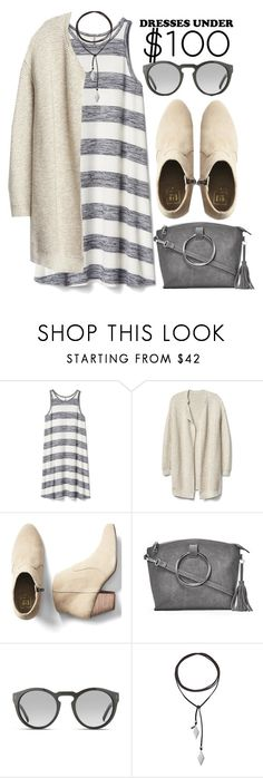 """Dresses Under $100"" by alaria ❤ liked on Polyvore featuring Gap, Nasty Gal, Marc Stone, Vanessa Mooney and under100"