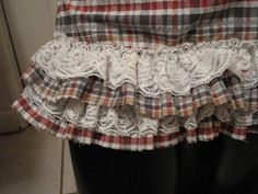 From Scraps to Skirt! Click the photo to see how it's done! Enjoy!