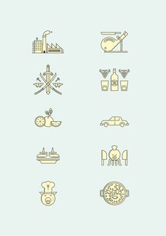 Goods of Spain map by relajaelcoco, via Behance