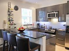 u shaped kitchen designs with breakfast bar | kitchen ideas