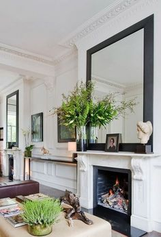 100 Stylish Mantel Designs That Are a Perfect 10