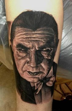 Steve Wimmer did this awesome portrait. #inked #inkedmag #tattoo #realism #portrait #idea