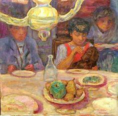 Pierre Bonnard - cool composition