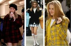 """Cher's character in """"Clueless"""" was one of my biggest style inspirations in middle school through high school. I had a coat just like that red plaid one!"""