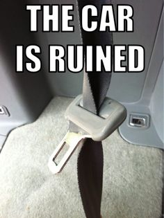 Check out: The car is ruined! One of our funny daily memes selection. We add new funny memes everyday! Bookmark us today and enjoy some slapstick entertainment! Funny Quotes, Funny Memes, Car Memes, Laugh Quotes, Funny Tweets, Life Quotes, Funny Commercials, Pet Peeves, Haha Funny