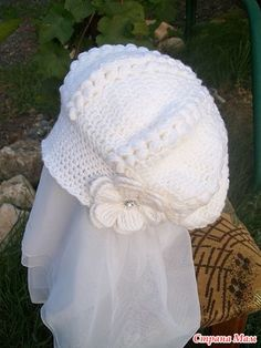 Uncinetto d'oro: Cappello! Use google translate hat crochet pattern