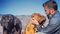 Man Was Terminally Ill Until His Dogs Forced Him To Live For the love of animals. Pass it on.