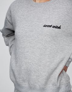 Embroidered text sweatshirt - Teen Girls Collection - Woman - PULL&BEAR Israel