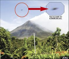 UFO's Visit Arenal Volcano  Inside Costa Rica - July 13, 2009