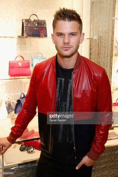 Jeremy Irvine attends the House of Dior Boutique Launch Party in New Bond Street on June 8, 2016 in London, England.