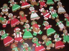 Cute gingerbread people   Gingerbread   Pinterest   Gingerbread ...