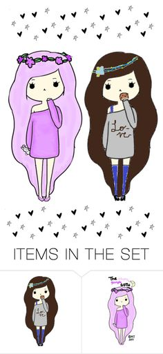 """""""My favorite Chibi"""" by forever-lover1 ❤ liked on Polyvore featuring art"""