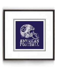 Look what I found on #zulily! 'American Football' Print #zulilyfinds