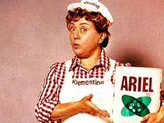 Klementine! Werbung für Ariel.