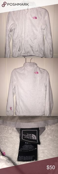 North face fleece breast cancer edition Good condition warm perfect for fall North Face Jackets & Coats