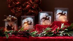 Design, Create, Inspire!: Santa's Sleigh Glass Block Set