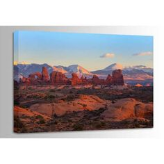 Turret Arch at Sunset 48X32 125-1510531