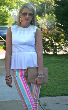 | Gigi New York | Fashion Blogger | Shotguns & Seashells | neon stripes | Lilly Pulitzer | www.shotgunsandseashells.com | Chandler MacWilliam of Shotguns & Seashells |