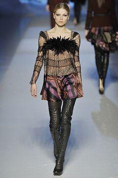 Etro Fall 2008 Ready-to-Wear Fashion Show - Masha Novoselova