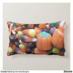 Candy Corn Lumbar Pillow Halloween Candy, Halloween Gifts, Halloween Decorations, Holiday Photography, Halloween Pillows, Pumpkin Decorating, Candy Corn, Custom Pillows, Party Hats