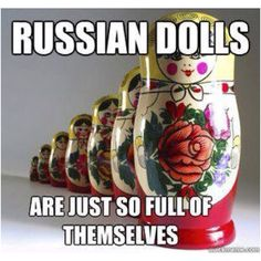 Russia and puns.  Can't get much better!