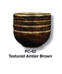 Textured Amber Brown