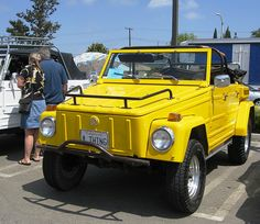 VW Thing Yes I really want one of these… Volkswagen 181, Volkswagen Thing, Vw Modelle, Vw Lt, 1964 Ford, Vw Cars, Modified Cars, 4x4 Trucks, My Ride